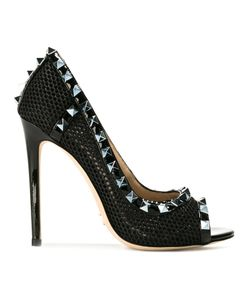 GIANNI RENZI | Peep Toe Stiletto Pumps