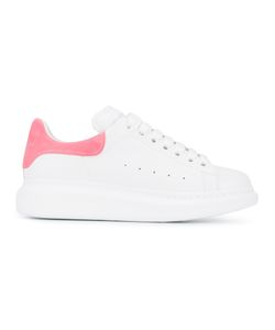 Alexander McQueen | Low-Top Platform Trainers 36 Leather/Suede/Rubber