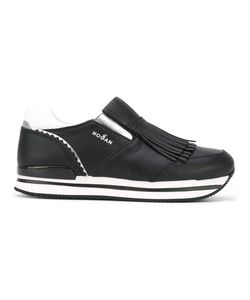 Hogan | Fringed Slip-On Sneakers Size 40