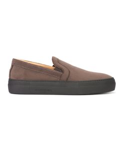 ARMANDO CABRAL | Broome Slip-On Sneakers 10 Leather/Cotton/Rubber