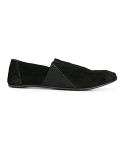 THE LAST CONSPIRACY | Contrast Panel Loafers 41 Horse