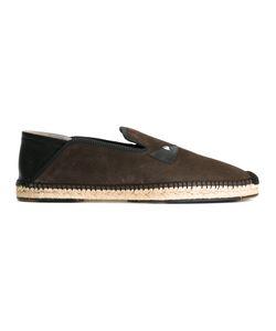 Fendi | Bag Bugs Espadrilles 9 Suede/Rubber/Leather/Raffia
