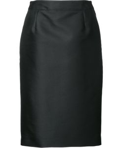 Carolina Herrera | Mikado Pencil Skirt