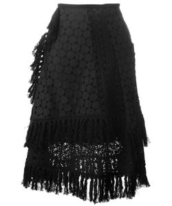 See By Chloe | See By Chloé Crochet Laye Skirt 34 Cotton/Polyester/Viscose
