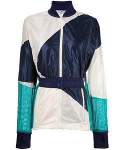 Adidas By Stella  Mccartney | Adidas By Stella Mccartney Contrast Belted Bomber Jacket Xs