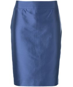 Armani Collezioni | Pencil Skirt 44 Cotton/Silk/Polyester/Spandex/Elastane