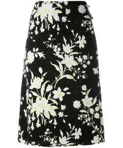 Céline   Textured Pattern Skirt Size 36