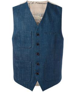AL DUCA D'AOSTA   1902 Pocketed Waistcoat Size 50
