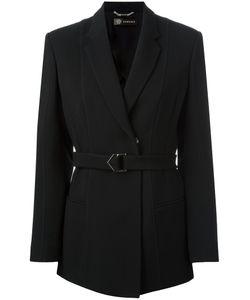 Versace | Waist-Tie Blazer 40 Acetate/Viscose/Silk