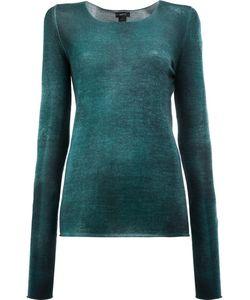 Avant Toi | Washed Effect Jumper Medium Silk/Cashmere