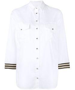 Ballantyne   Рубашка С Вышивкой На Рукавах