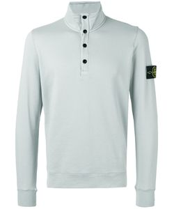 Stone Island | Button Collar Sweatshirt