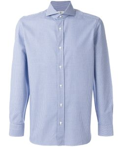 BORRELLI | Micro Check Shirt Men 38