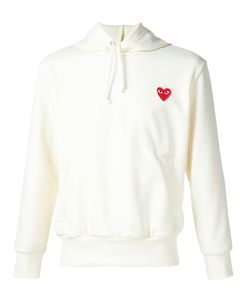 Comme des Gar ons Play | Comme Des Garçons Play Heart Application Hoodie