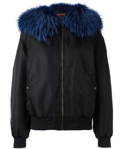 MR & MRS Italy | Fur Collar Bomber Jacket