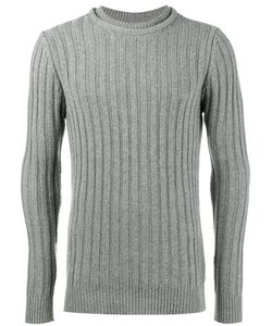 Lot 78 | Ribbed Knitted Crew Neck Sweater Men