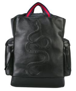 Gucci | Kingsnake Embroidered Backpack