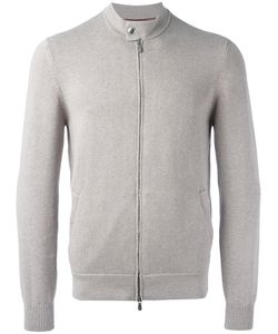 Brunello Cucinelli | Zip Up Bomber Jacket 54 Cotton