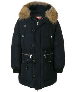 Dsquared2 | Стеганое Пальто С Меховой Оторочкой