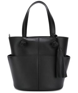 Tod'S | Tassel Detail Tote Calf Leather