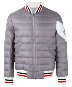 Moncler Gamme Bleu | Padded Bomber Jacket 3 Nylon/Cupro/Polyimide/Feather