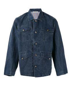 ERMANNO GALLAMINI | Buttoned Jacket Size Medium