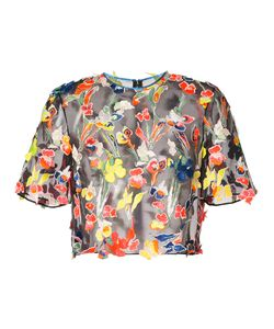 Jason Wu | Embroidered Cropped Blouse Size 4
