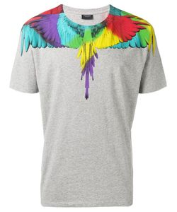 MARCELO BURLON COUNTY OF MILAN | Wings Print T-Shirt Large