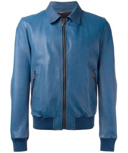 Dolce & Gabbana | Leather Jacket 50 Goat Fur/Lamb