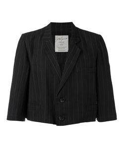 YOHJI YAMAMOTO VINTAGE | Striped Cropped Blazer Size Medium