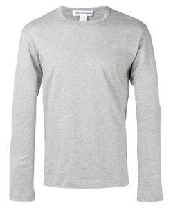 Comme Des Garcons | Comme Des Garçons Shirt Crew-Neck Long Sleeve Top Size Small