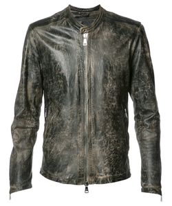 Giorgio Brato | Zipped Jacket 48 Nylon/Leather