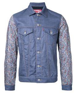 JUNYA WATANABE COMME DES GARCONS | Junya Watanabe Comme Des Garçons Man Abstract Print Sleeves Jacket
