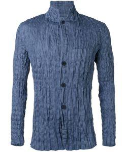 Issey Miyake   Wrinkled Long Sleeve Shirt