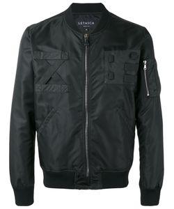 LETASCA | Zip Bomber Jacket