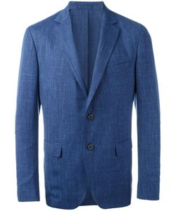 Salvatore Ferragamo | Classic Blazer 50 Virgin Wool/Silk/Linen/Flax/Cupro