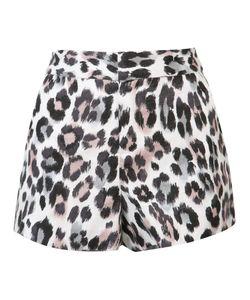 Joie | Leopard Print Shorts 4 Cotton/Linen/Flax
