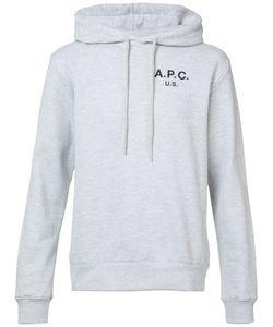 A.P.C. | Толстовка С Капюшоном И Логотипом .