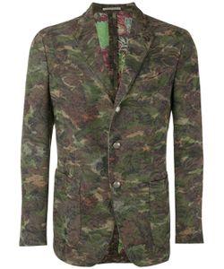 GABRIELE PASINI | Camouflage Print Blazer