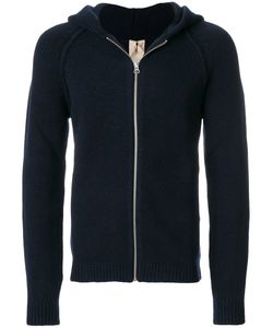 TEN C   Long Sleeved Hooded Sweater Men Polyamide/Spandex/Elastane/Virgin
