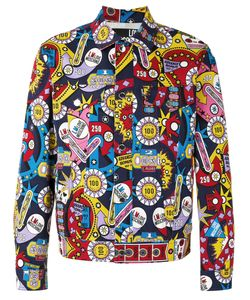 Love Moschino | Print Jacket 50 Cotton/Spandex/Elastane