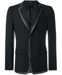 Alexander McQueen | Contrast Edge Blazer Jacket 50 Wool/Mohair/Viscose