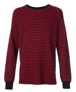 OVADIA & SONS | Striped Crew Neck Sweater Men