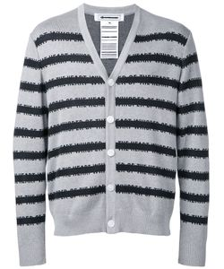 ANREALAGE | Striped Cardigan Size