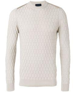 Lanvin   Honeycomb Knit Jumper L