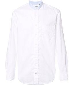 Gitman Vintage | Banded Collar Shirt Xl Cotton