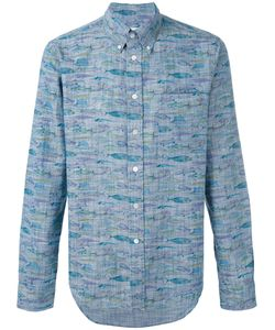 Bellerose | Fish Print Button Down Shirt