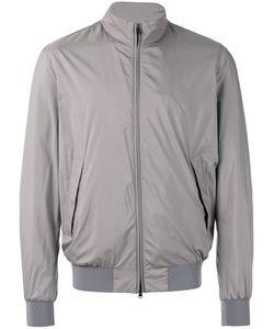 Herno | Zipped Bomber Jacket 54 Polyester/Viscose/Spandex/Elastane