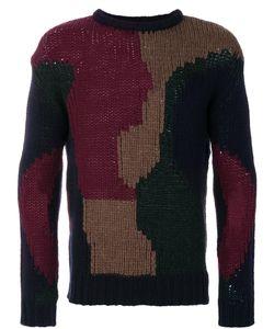 Frankie Morello | Intarsia Knit Jumper Men