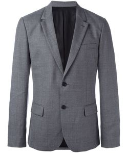 Ami Alexandre Mattiussi | Lined 2 Button Jacket 48 Cotton/Acetate/Wool